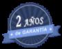 2 años de garantía Husqvarna